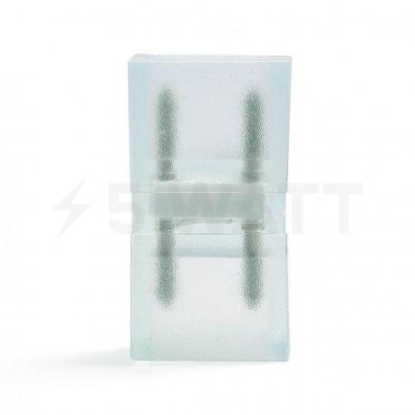 Конектор для світлодіодних стрічок 220В 5050/3014 (2 роз'єми + 2pin (2шт.)) - недорого