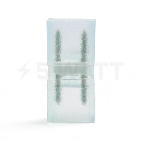 Коннектор для светодиодных лент 220В 3528/5730 (2 разъёма+2pin(2шт.)) - недорого