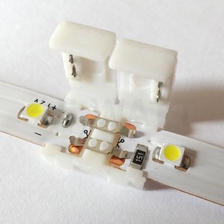 Конектор світлодіодних стрічок OEM №1 8mm joint (зажим-зажим) - в інтернет-магазині