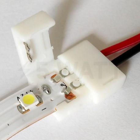 Коннектор для светодиодных лент OEM №4 8mm joint wire (зажим-провод) - в интернет-магазине