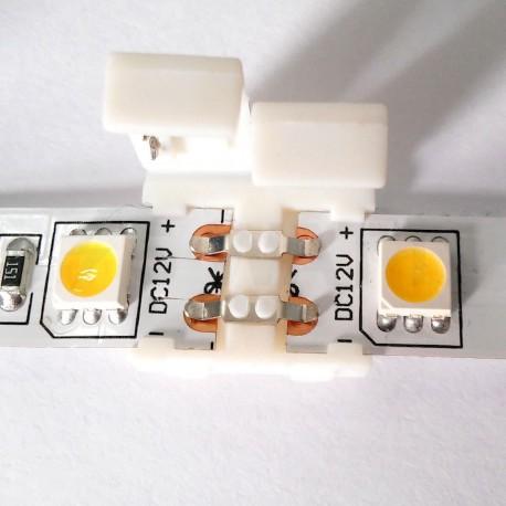 Конектор для світлодіодних стрічок OEM №2 10mm joint (зажим-зажим) - недорого