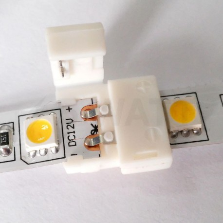 Конектор для світлодіодних стрічок OEM №2 10mm joint (зажим-зажим) - в Україні