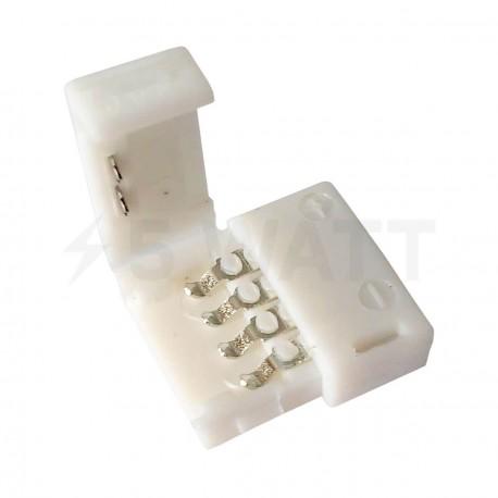Конектор для світлодіодних стрічок OEM №3 10mm RGB joint (зажим-зажим) - придбати