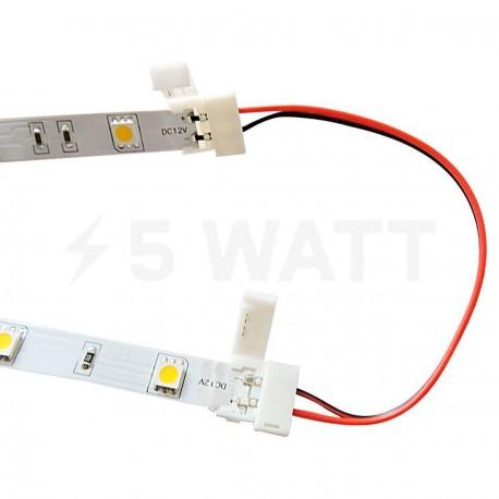 Коннектор для светодиодных лент OEM №5 8mm 2joints wire (провод-2 зажима) - недорого
