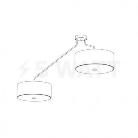 Люстра NOWODVORSKI Hawk Gray 6541 - магазин светодиодной LED продукции