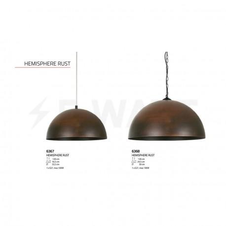 Люстра NOWODVORSKI Hemisphere Rust 6368 - недорого