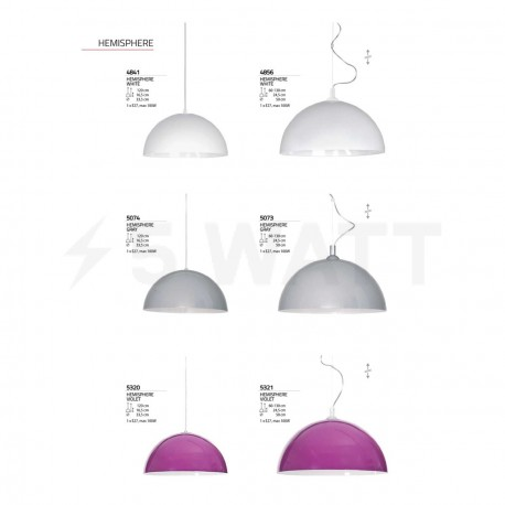 Люстра NOWODVORSKI Hemisphere Violet 5320 - недорого