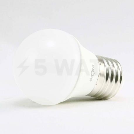 Світлодіодна лампа Biom BB-405 G45 7W E27 3000К матова - в Україні