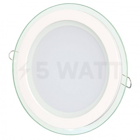 Светильник светодиодный Biom GL-R18 W 18Вт круглый белый - купить