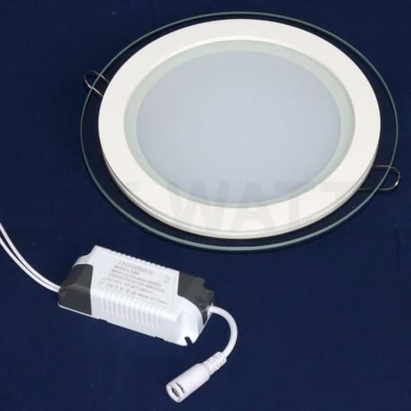 Светильник светодиодный Biom GL-R18 W 18Вт круглый белый - недорого