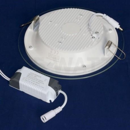 Светильник светодиодный Biom GL-R18 W 18Вт круглый белый - в Украине