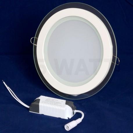 Светильник светодиодный Biom GL-R18 W 18Вт круглый белый - в интернет-магазине