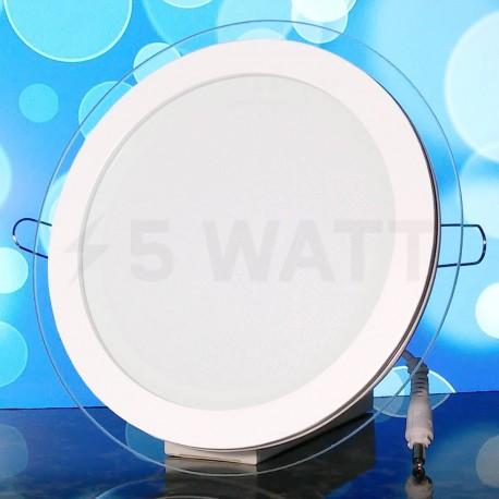 Светильник светодиодный Biom GL-R18 W 18Вт круглый белый - магазин светодиодной LED продукции