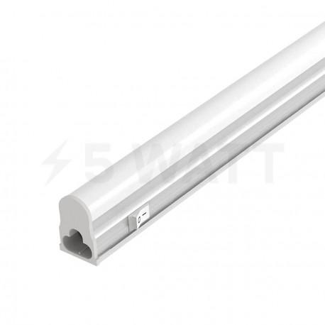 Светильник светодиодный Biom T5-600-8W 4500K AC220 алюминий - купить
