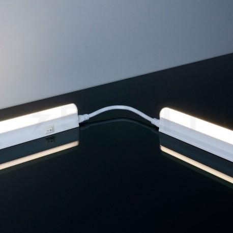 Светильник светодиодный Biom T5-600-8W 4500K AC220 алюминий - в интернет-магазине