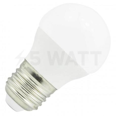 Светодиодная лампа Biom BB-406 G45 7W E27 4200К матовая - купить