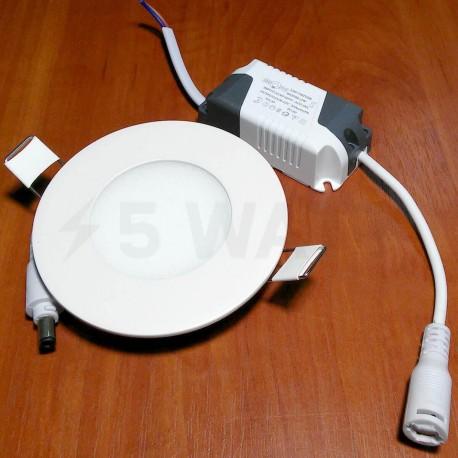 Світильник світлодіодний Biom PL-R3 W 3Вт круглий білий - недорого