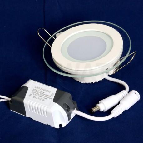 Світильник світлодіодний Biom GL-R6 W 6Вт круглий білий - недорого
