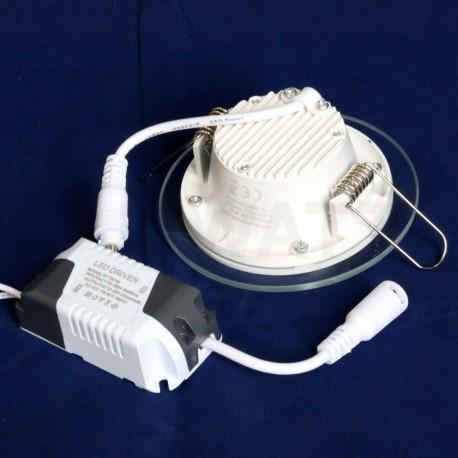 Світильник світлодіодний Biom GL-R6 W 6Вт круглий білий - в Україні