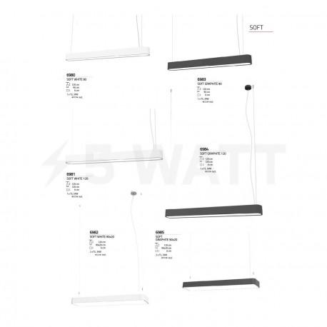 Люстра NOWODVORSKI Soft Graphite 6985 (6985) - недорого