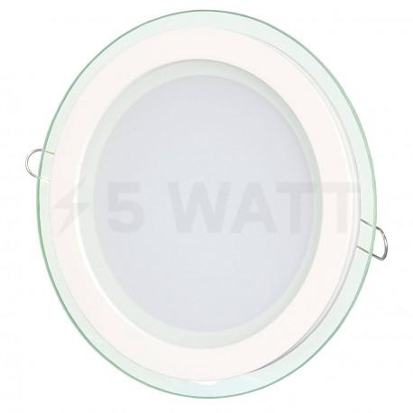 Светильник светодиодный Biom GL-R12 W 12Вт круглый белый - купить