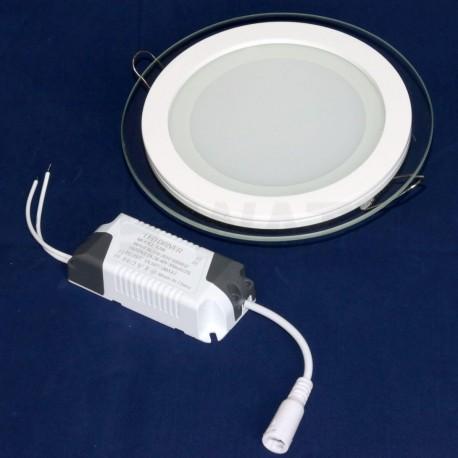 Світильник світлодіодний Biom GL-R12 W 12Вт круглий білий - недорого