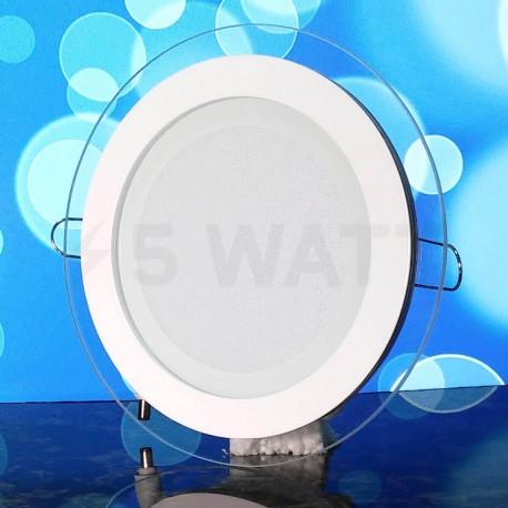 Світильник світлодіодний Biom GL-R12 W 12Вт круглий білий - в інтернет-магазині