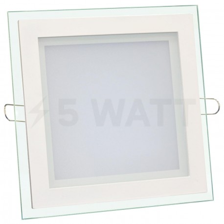 Світильник світлодіодний Biom GL-S12 W 12Вт квадратний білий - придбати