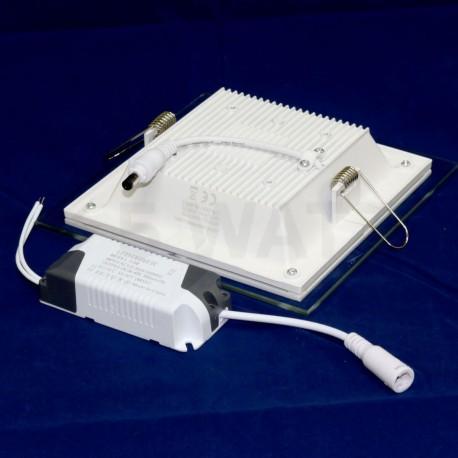 Светильник светодиодный Biom GL-S12 W 12Вт квадратный белый - в Украине
