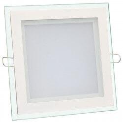 Світильник світлодіодний Biom GL-S18 W 18Вт квадратний білий