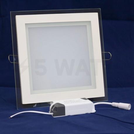Світильник світлодіодний Biom GL-S18 W 18Вт квадратний білий - недорого