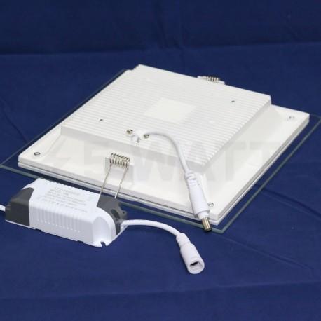 Світильник світлодіодний Biom GL-S18 W 18Вт квадратний білий - в Україні