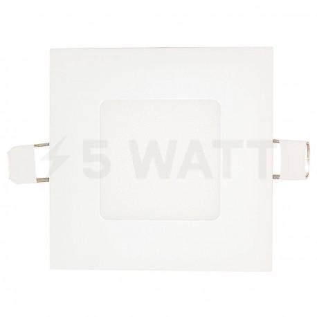 Светильник светодиодный Biom PL-S3 W 3Вт квадратный белый - в интернет-магазине
