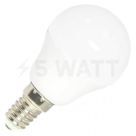 Светодиодная лампа Biom BB-404 G45 7W E14 4200К матовая - купить