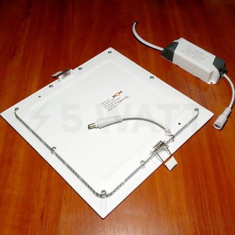 Светильник светодиодный Biom PL-S18 W 18Вт квадратный белый - в Украине