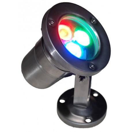 Светодиодный прожектор подводный OEM 22 RGB 12W IP68 24V - купить