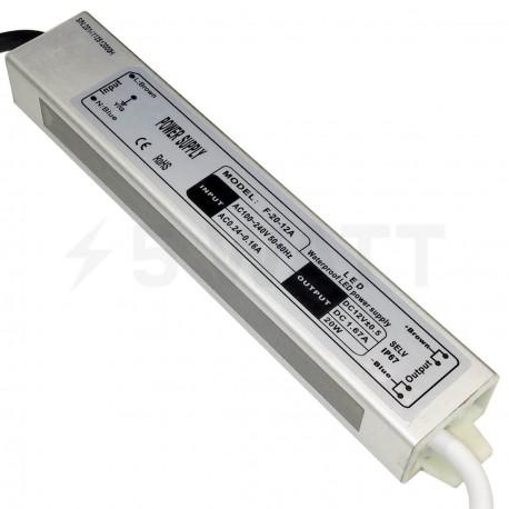 Блок питания OEM DC12 20W 1,67А WP герметичный - купить