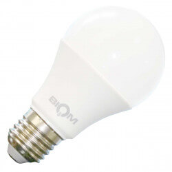 Светодиодная лампа Biom BB-419 A60 9W E27 3000К матовая