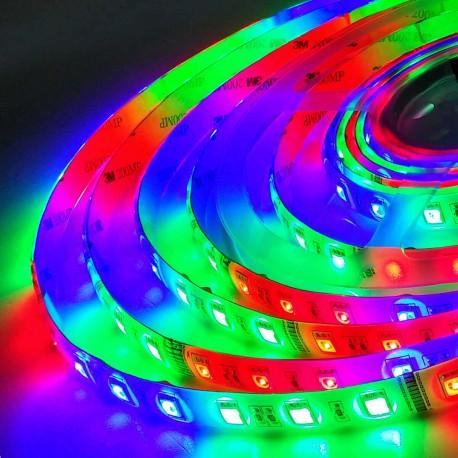 Світлодіодна стрічка B-LED 5050-54 RGB IP65 Magic, герметична, 1м - недорого