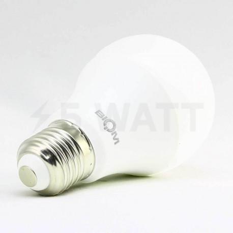 Светодиодная лампа Biom BB-419 A60 9W E27 3000К матовая - недорого