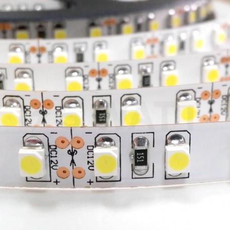 Світлодіодна стрічка B-LED 3528-120 W IP20 біла, негерметична, 1м - недорого