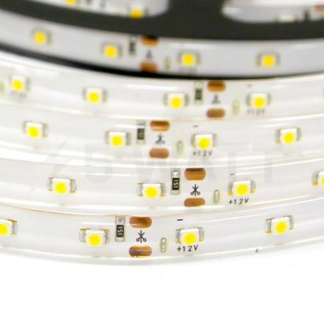 Світлодіодна стрічка DX 3528-60 W IP65 біла, герметична, 1м - недорого