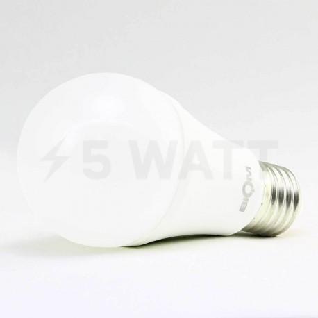 Светодиодная лампа Biom BB-421 A60 12W E27 3000К матовая - недорого