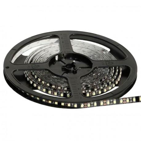 Светодиодная лента B-LED 3528-120 W белый черная плата, негерметичная, 1м - купить