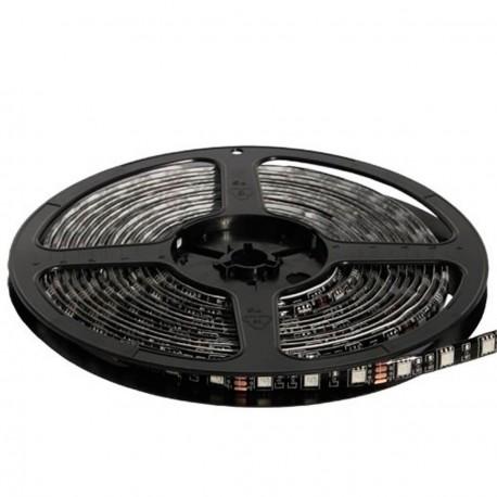 Светодиодная лента B-LED 5050-60 RGB IP65 черная плата, герметичная, 1м