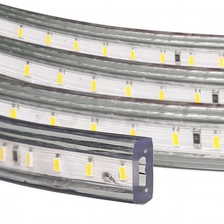 Светодиодная лента NED 3014-120 W 220В холодный белый IP68, герметичная, 1м - недорого