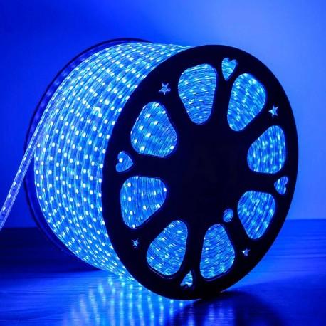 Світлодіодна стрічка JL 5050-60 RGB 220В IP68, герметична, 1м - недорого