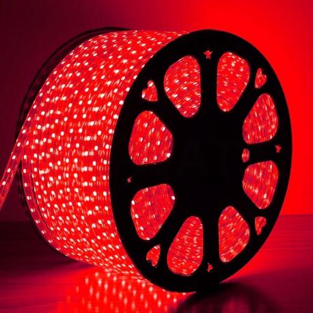 Світлодіодна стрічка JL 5050-60 RGB 220В IP68, герметична, 1м - в інтернет-магазині