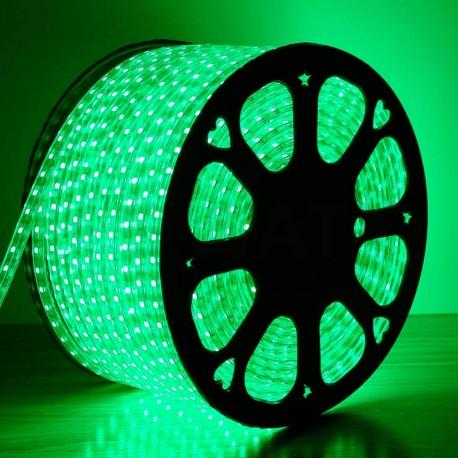 Світлодіодна стрічка JL 5050-60 RGB 220В IP68, герметична, 1м - магазин світлодіодної LED продукції