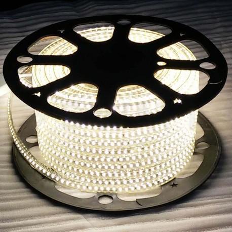 Світлодіодна стрічка JL 5730-52 220В W IP68 білий, герметична, 1м - недорого